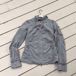 Mountain Hardware thin hooded jacket.